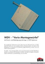 WDV Vario-Montagewürfel Entwurf.indd