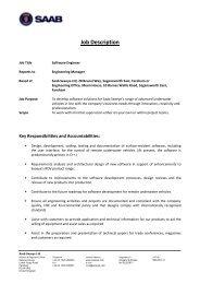 Job Description - Seaeye