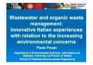 Wastewater and organic waste management