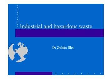 Industrial and Hazardous Waste