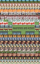 From Localized Products to Geographical Indications - Ressources ...