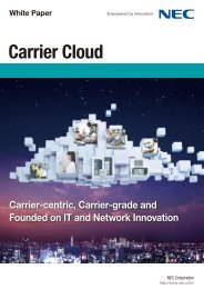 01Carrier Cloud - Nec