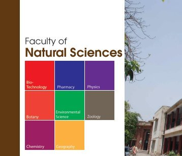 Faculty of Natural Sciences - Lahore College for Women University