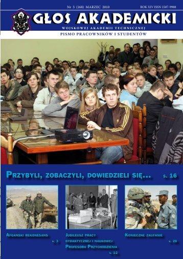 ... s. 16 - Wojskowa Akademia Techniczna