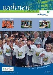 Download Mieterzeitschrift (PDF-Datei; 6,76MB) - Wohnbau Salzgitter