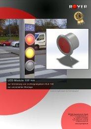 LED-Module 100 mm - Royer Signaltechnik GmbH