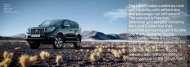 The Land Cruiser combines rock solid stability with ... - Accessories