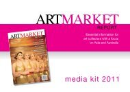 media kit 2011 - The Art Market Report