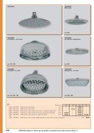 Soffioni doccia in ABS cromata - Tirinnanzi.com