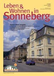 WobauSON_Heft_1-07 - Wohnungsbau Sonneberg GmbH