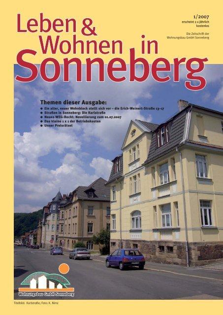 singles sonneberg