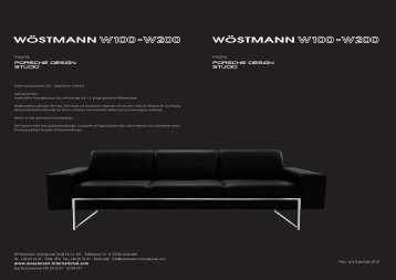 Preis - Wöstmann International W100 und W200 Design by Porsche ...