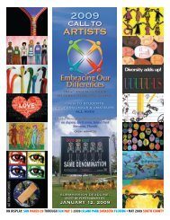 2009 ARTISTS - Embracing Our Differences