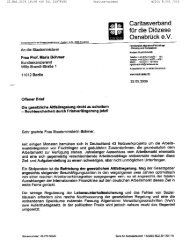 Offener Brief an Staatsministerin Böhmer - Aktion Bleiberecht