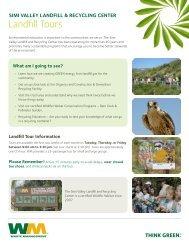 Landfill Tours - Waste Management