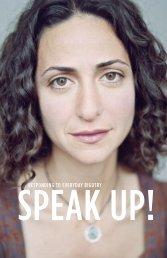 Speak Up! - Teaching Tolerance