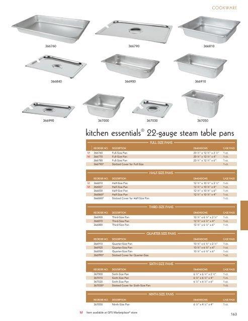 COOKWARE 456760 GFS sheet