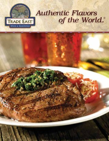 Authentic Flavors of the World.® - Gordon Food Service