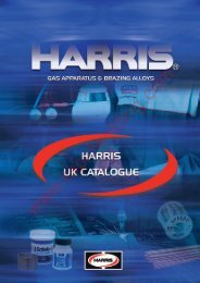 harris filler metal selection char t - Rapid Welding and Industrial ...