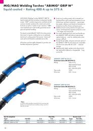 "MIG/MAG Welding Torches ""ABIMIG® GRIP W"" liquid cooled ..."