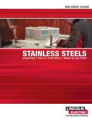 stainless steels - Rapid Welding and Industrial Supplies Ltd