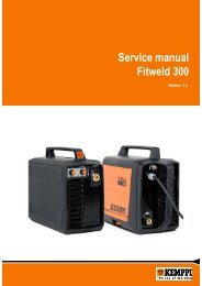 Service manual Fitweld 300 - Rapid Welding and Industrial Supplies ...