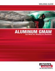 SuperGlaze Aluminum MIG Welding Guide - Lincoln Electric
