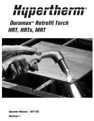Duramax Retrofit Torch Operating Manual - Rapid Welding and ...