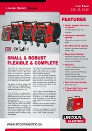 features sMaLL & rOBust fLeXIBLe & COMPLete - Rapid Welding ...