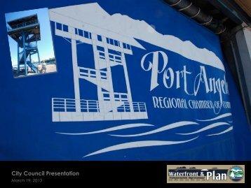City Council Presentation - the City of Port Angeles