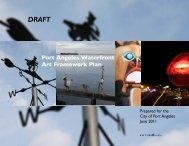 Port Angeles Waterfront Art Framework Plan - City of Port Angeles