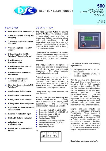 technical manual (PDF 89k) - Power Drive Systems
