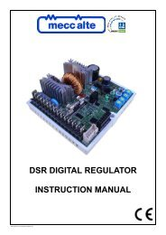 technical manual (PDF 234k) - Power Drive Systems Generator ...