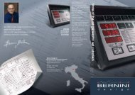 Bernini Product Brochure