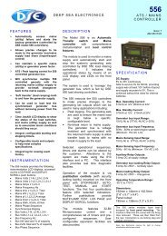 technical manual (PDF 419k) - Power Drive Systems Generator ...