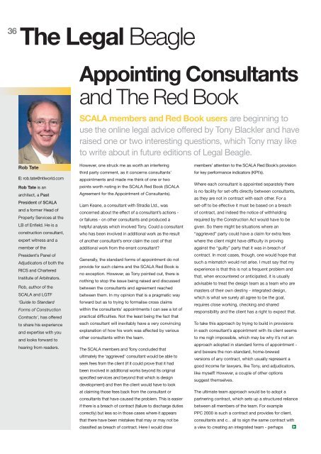 Appointing Consultants And The Red Book Public Architecture Co
