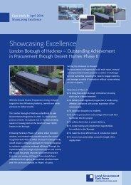 LB Hackney- outstanding achievement in procurement - Public ...
