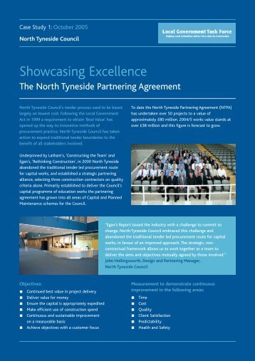 The North Tyneside Partnering Agreement Public Architecture