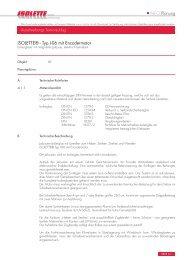 INFO Planung ISOLETTE® - Typ I-06 mit Encodermotor