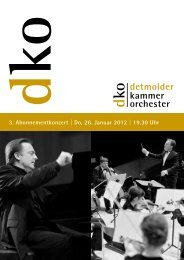 Ludwig van Beethoven - Detmolder Kammerorchester