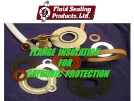 flange insulation for cathodic protection - Fluid Sealing Products, Inc.
