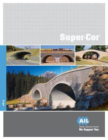 Download the AIL Super•Cor Brochure - Atlantic Industries Ltd.