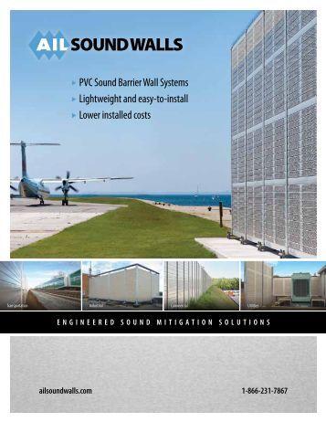 Download the Sound Walls brochure - Atlantic Industries Ltd.