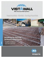 Download the Wall Systems Brochure - Atlantic Industries Ltd.
