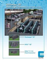 PDF - CUL059 Recharger V8 Brochure - CULTEC, Inc.