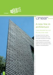 A new line in architecture - Ibstock