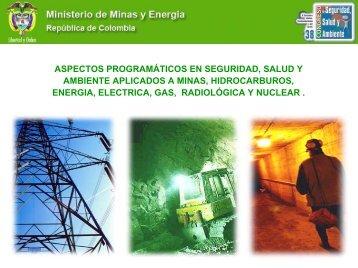 5. Presentación del Ministerio de Minas y Energía - Consejo ...