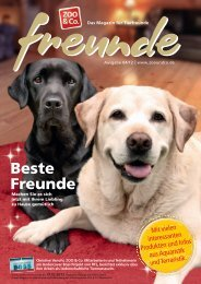 Freunde Magazin Winter 2012 S. 01-33 - Alles für Tiere
