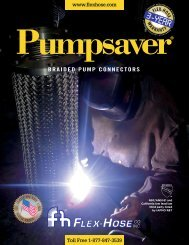 Pumpsaver Informative Brochure - Flex-Hose Co Inc