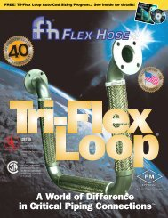 Tri-Flex Loop - Flex-Hose Co Inc
